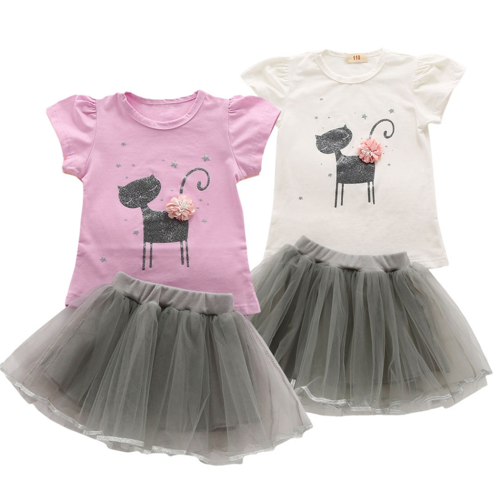 dejorchicoco Summer Kids Clothes For Girls Clothing Set