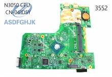 Laptop Motherboard 41D5Y 041D5Y CN-041D5Y PARA Dell PARA Inspiron 3000 DDR3L N3050 15-3552 Motherboard Integrado 100% Testado OK