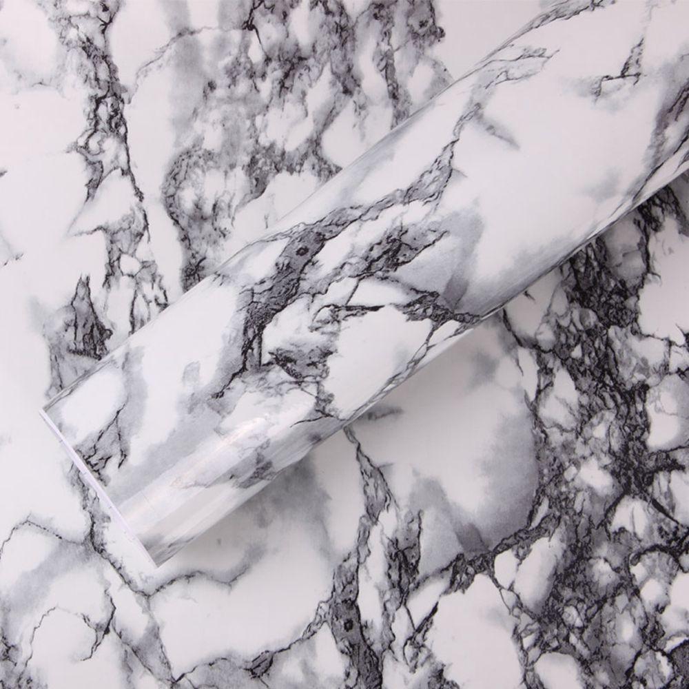 1.22x3 m marbre vinyle papier peint cuisine placard vinyle mur papier vinyle 48 ''x 118''