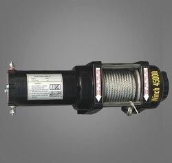 4500lbs12v-24в портативный медный сердечник мотор лебедка мощность восстановления лебедки кабель пулер комплект для лебедки ATV трейлер лебедки г...