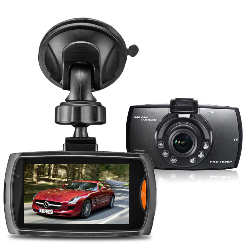 Free Shipping Car DVR Camera G11 Dash Camera Recorder Full HD 1080P Car Camcorder 2.7Inch 170 Degree G-Sensor Dash Cam ...
