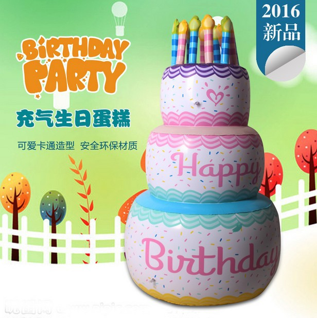 New Year Birthday Party Pool Decoration Event Game Prop Pvc Toys