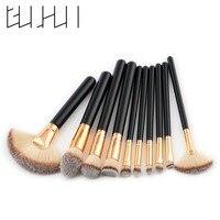 10pcs Makeup Brushes Set High Quality Powder Foundation Eyeshadow Lip Brushes Professional Make Up Brush Kit