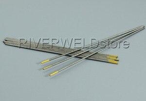 """Image 5 - 1.5% di Tungsteno Lanthanated Tungsteno Elettrodo di saldatura TIG WL15 oro 2.0*150 millimetri 5/64 """"x6"""" Tig Asta 10pcs"""