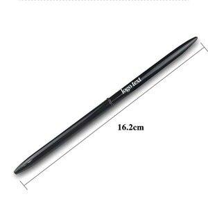 Image 5 - LZN قلم حبر جاف معدني القلم خمر الذهب الفضة الكرة نقطة معدنية القلم لرجال الأعمال الكتابة الهدايا مكتب اللوازم المدرسية شحن مجاني