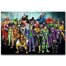 Joker Harley Quinn Silk Poster (4 Sizes)
