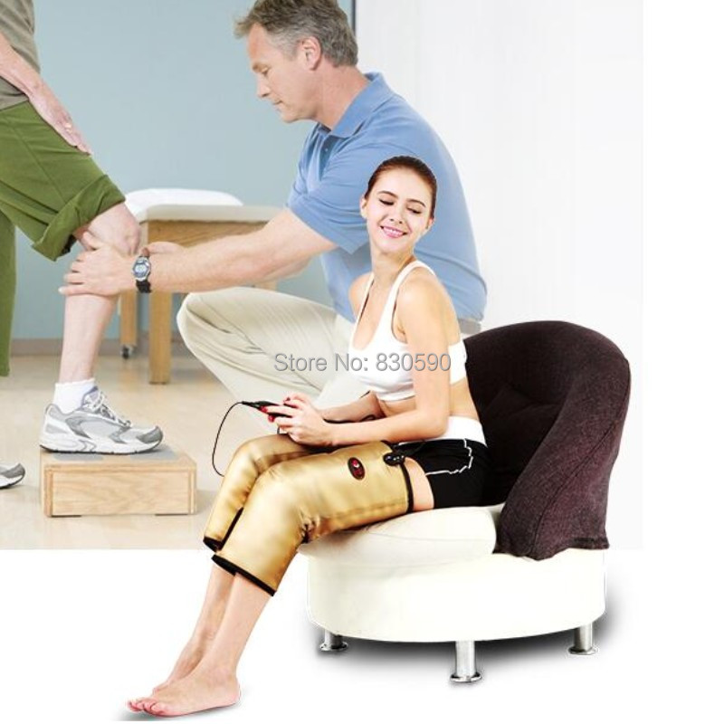 Electro - thermal knee massage