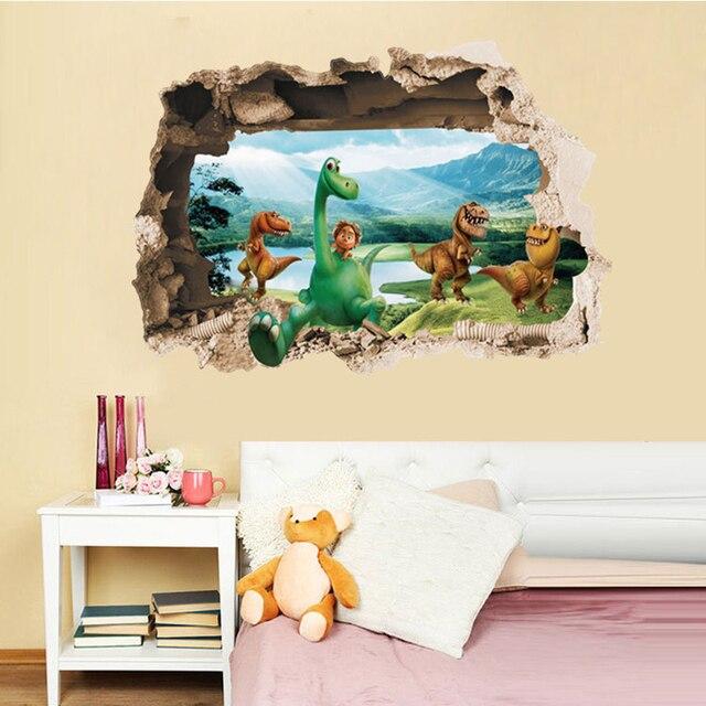 aliexpress : buy creative home decor 3d wall stickers broken