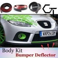 Samochodowych części modyfikacji ciała/akcesoria do automatycznego montażu/Lip spoilery taśmy dla SEAT/Anti-kolizji zderzak wargi
