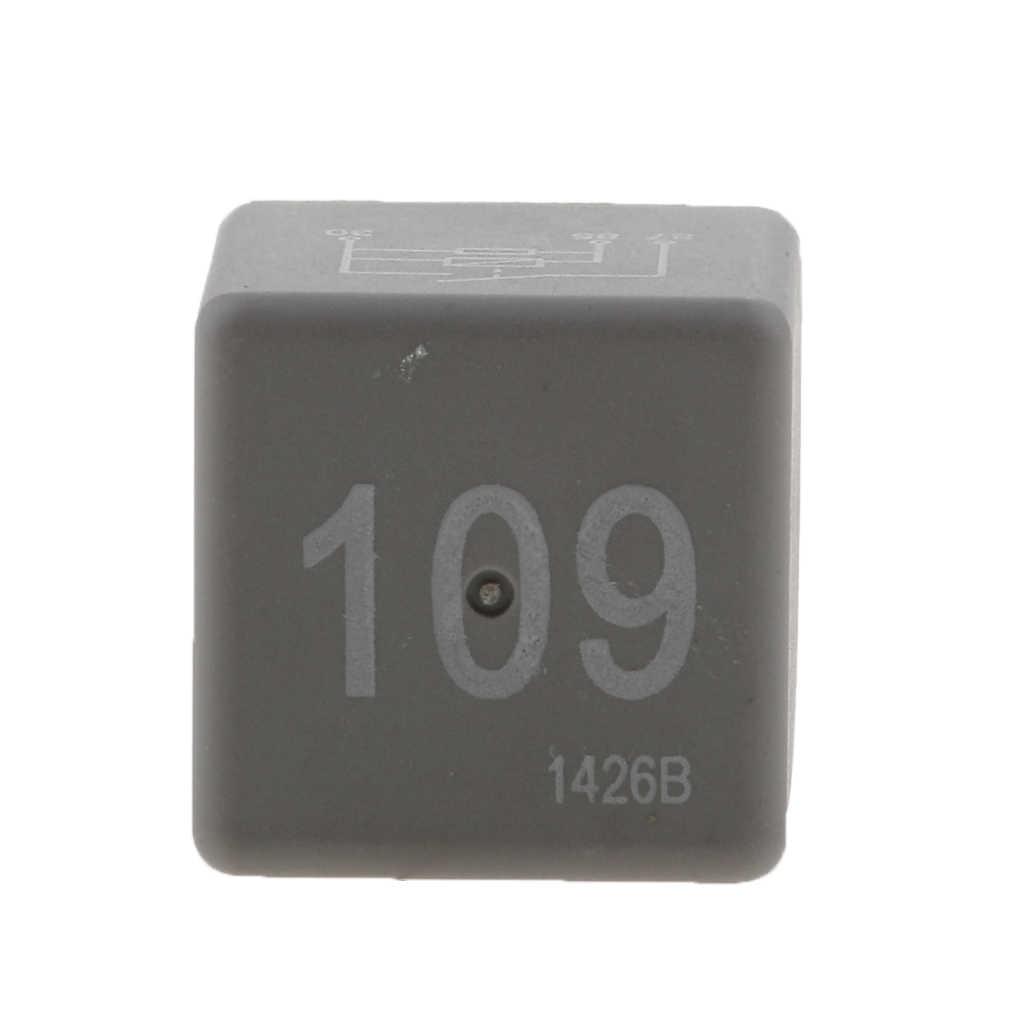 Relais de Distribution de câblage d'alimentation de moteur en plastique de 35mm * 25mm #109 pour le relais de voiture de VW Golf Jetta Passat