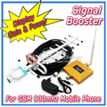 Repetidor GSM 2 G del teléfono móvil amplificador de señal GSM 900 mhz amplificador de señal de teléfono celular de refuerzo 2 G señal repetidor + Yagi Antenna