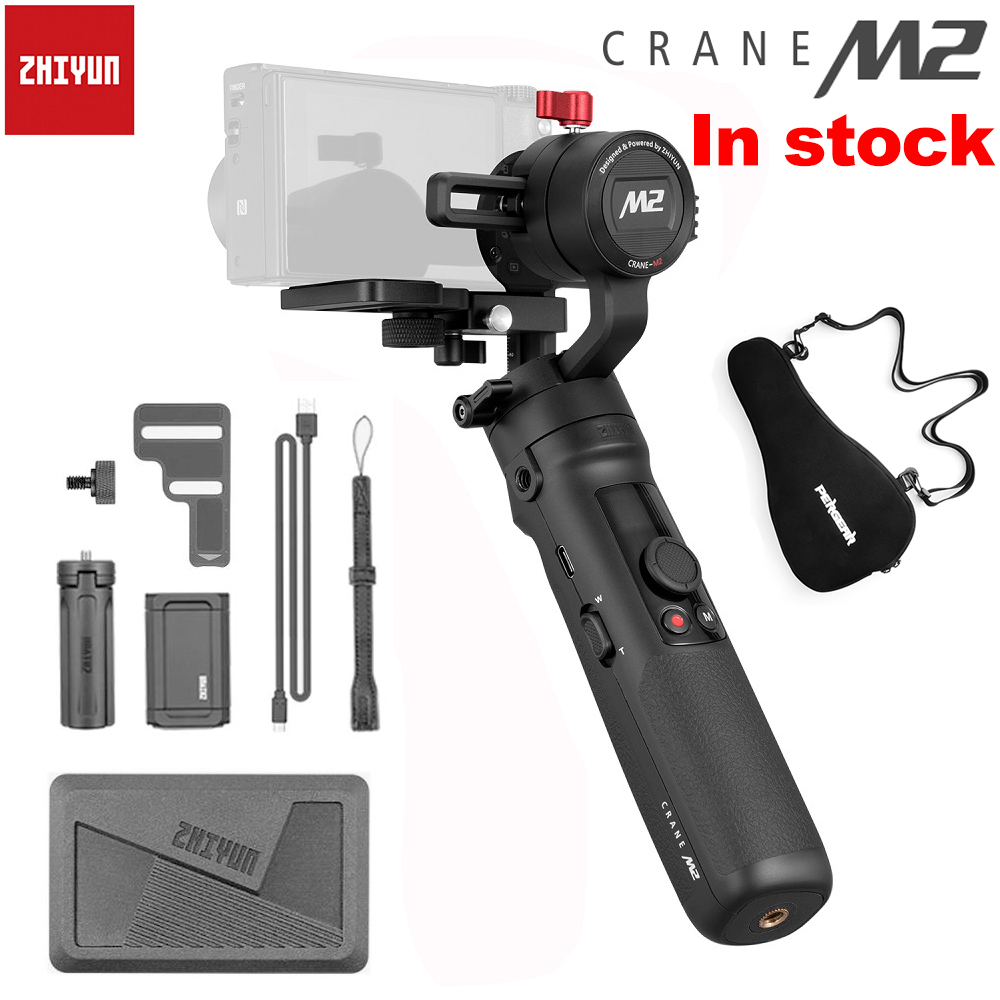 Zhiyun Crane M2 3 Axis Handheld Gimbal for Mirrorless Cameras Smartphones OSMO Action Stabilizer PK FY