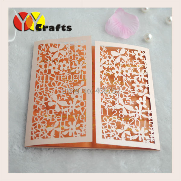 Hot for usa elegant lace laser cut cheap letter printing invitation printed service for the insert paper of invitation card m4hsunfo