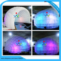 joyinflatable Diameter 5m Dome Oxford Cloth Tent with LED Light for party or event