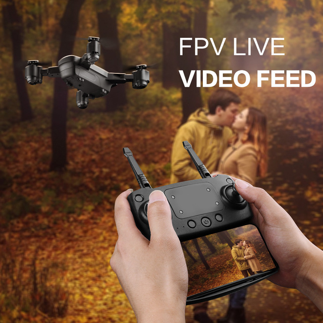 New FPV RC Drone With Live Video And Return Home Foldable RC With HD 720P/1080P Camera Quadrocopter Return Home Foldable toy-in Camera Drones from Consumer Electronics on Aliexpress.com | Alibaba Group