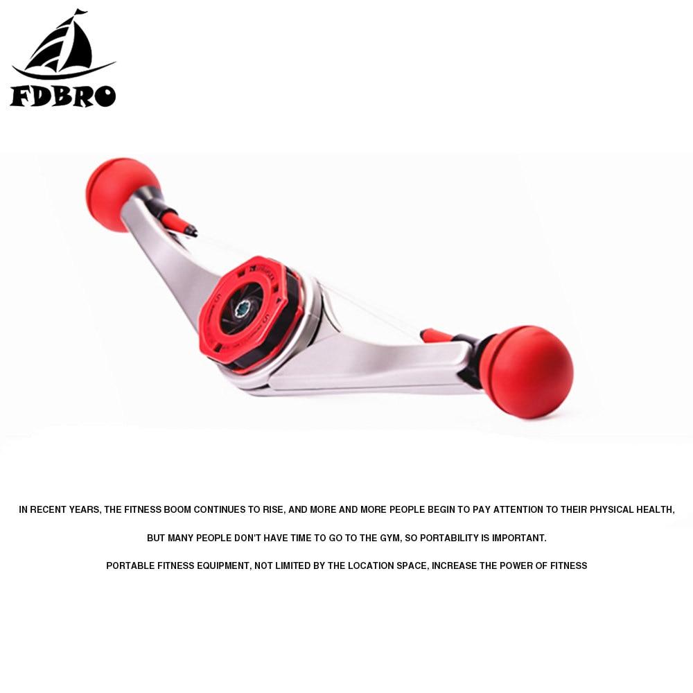FDBRO New Style Power Arms Wrist Fitness Building Training Equipment Gym Strength Forearm Hand Grip Fitness