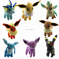8pcs/lot 8'' Pokemon Umbreon Eevee Espeon Jolteon Vaporeon Flareon Glaceon Leafeon Plush Toys Soft Stuffed animals 8pcs/set