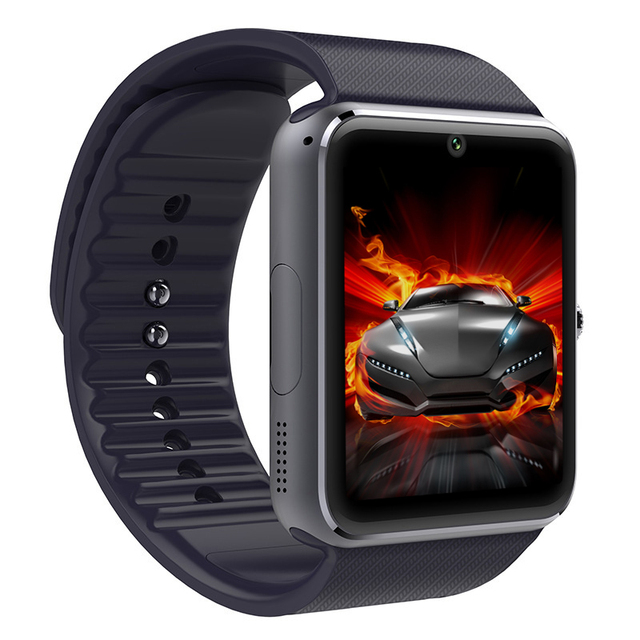 GT08 SmartWatch Bluetooth Smat Часы с Камерой sim-карты Для IOS Android носить сенсорный часы водонепроницаемый мобильный телефон Часы