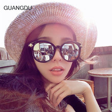GUANGDU Brand Arrow Sunglasses Women Female Color film Sun glasses For Women UV400 Eyewear Oculos Gafas De Sol Feminino