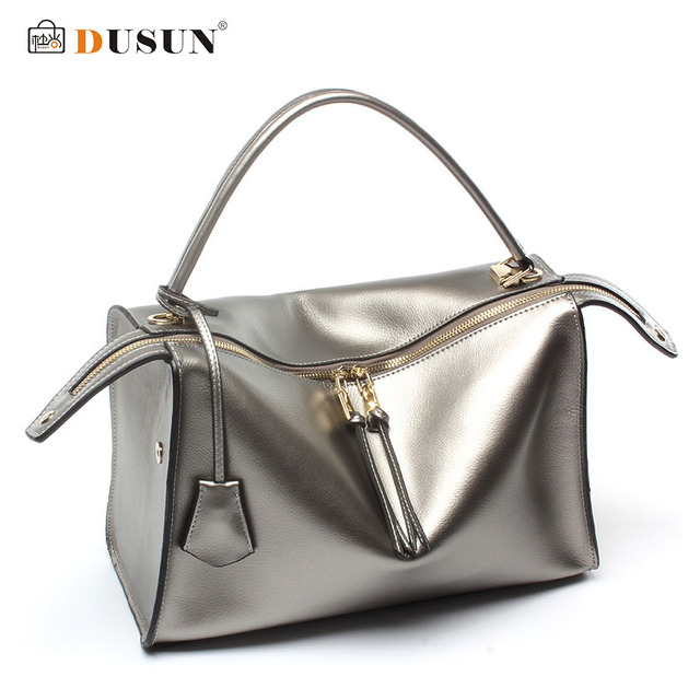 New Brand Real Genuine Leather Bag Vintage Handbag Womens Medium Tote Bags Female Crossbody Bags For Women Handbag  SE06