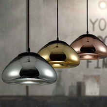 2015 New fashion pendant light colored glass hanging lampE27 110 / 220Vpendant lamp for home decor restaurant luminarias abajour
