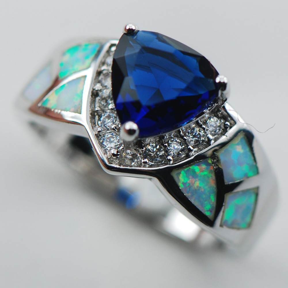 black for diamond jewelry ring opal lightning sapphire in rings l cocktail blue certified j ridge as condition id new carat