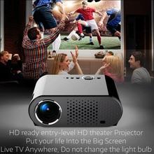 Full HD 720P 350 Lumens Home Theater LED LCD Mini Multimedia Projector LED Video Movie Cinema USB TV HDMI High Quality