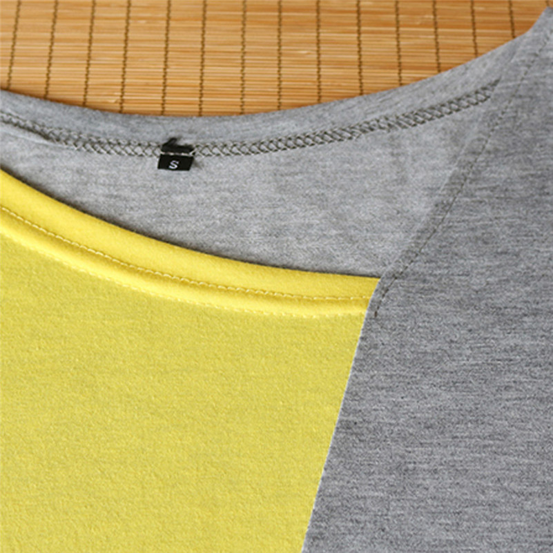 Patchwork Color Block Long Sleeve Blouse Tops Women Autumn Slim Shirt Blouse Clothes Blusa Feminina Camisa Drop Shipping #2s #5