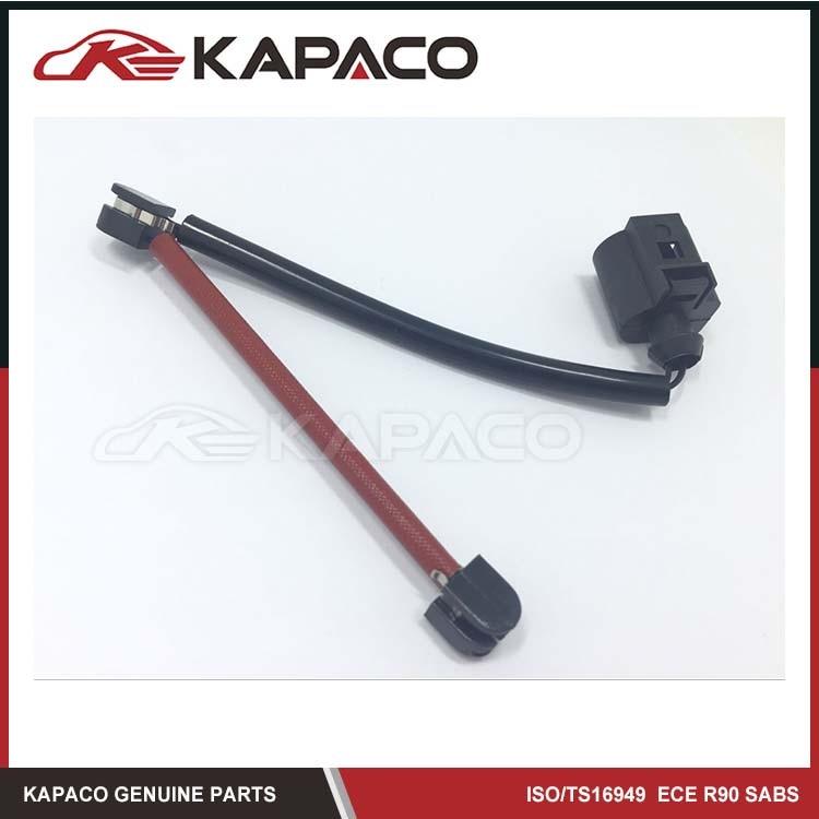 KAPACO Brand Rear Brake Pad wear Sensor OE# 7L0907637B 7L0907637C 95561236520 Fit For AUDI Q7 CAYENNE TOUAREG