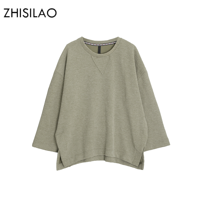 ZHISILAO 2017 Autumn Winter Woman Hoodies Ulzzang Chic Black Hoodie Simple Normcore Oversize Sweatshirt Harajuku Kpop Woman Tops