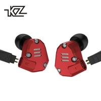 KZ ZS6 Earphones 2DD 2BA 8 Drivers Hybrid In Ear Stereo Sport Headset Suitable HIFI Noise Isolating Monitor Headphones ZS5 Pro