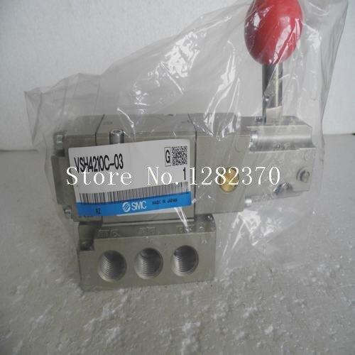 [SA] New original authentic special sales SMC manual valve VSH4210C-03 spot [sa] new original authentic special sales smc solenoid valve vqz3121 5yz1 c8 spot