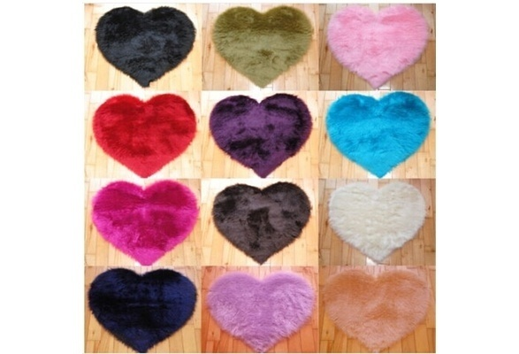 Modern Decorative Shaggy Heart Soft Faux Fur Rug Sheepskin Bedroom Kid Girls  Mat China. Online Get Cheap Kids Rugs Girl  Aliexpress com   Alibaba Group
