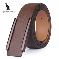 2016 New Designer Famous Brand Luxury Belts Men Male Waist Strap Faux Cowskin Leather Alloy Buckle