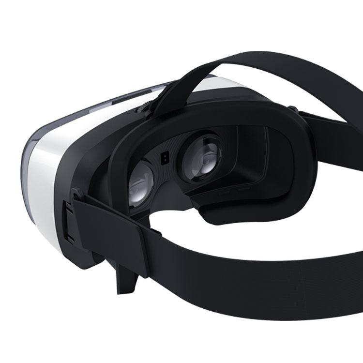 17 VR808 2.0 VR Virtual Reality 3D Glasses Helmet Google Cardboard Headset Version for 4.0 - 5.5 inch Smart Phone iPhone 8
