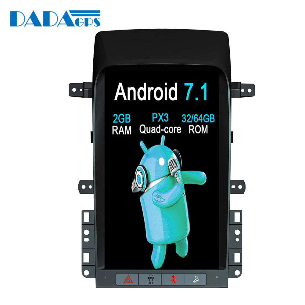 13 8 Tesla style Android 7 1 Car Radio player For Chevrolet Captiva 2007 2012 GPS
