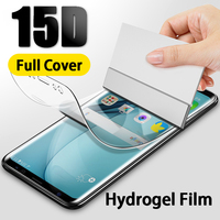 Full Cover Screen Protector For Samsung Galaxy S8 S10 S9 Plus Hydrogel Protective Film For S10e Note 9 8 S7 S6 Edge Note Glass
