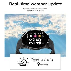 Image 4 - Colmi relógio inteligente cw8 mulheres dos homens pressão arterial oxigênio monitor de freqüência cardíaca esportes rastreador smartwatch ip68 conectar ios android