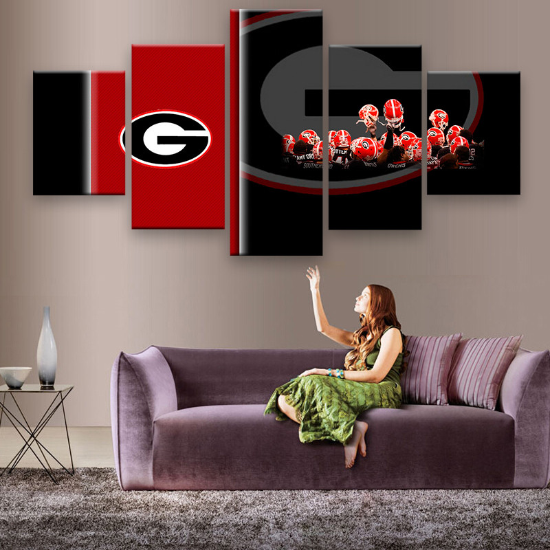 Georgia Bulldog Room Decor Home Decorating Ideas