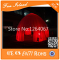 Inflatable LED Tent, Big Dome Tent With Arch Door,Inflatable Building Tent For Advertising,Inflatable Lawn Event Tent