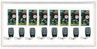 2int -- 2 out AC220V 1CH RF Wireless Switch Controle Remoto Sistema Transmissor com Dois-botão Receptor Smart Home interruptor