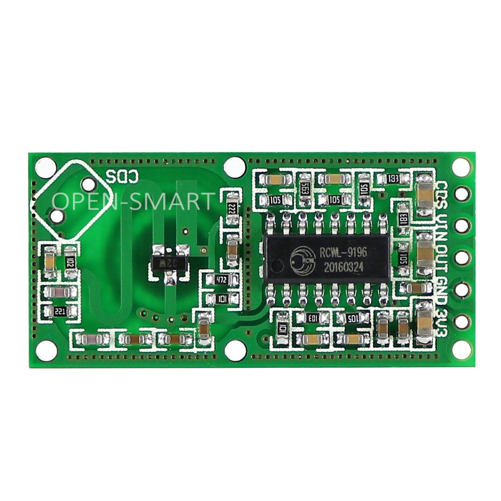 Us 2 28 5 Off Microwave Radar Induction Switch Human Motion Sensor Module High Sensitivity For Arduino Long Sensing Distance Wide Angle Detect In