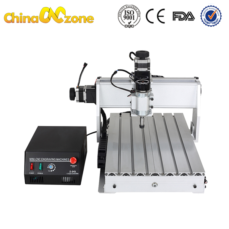 CNC 3040z USB 4axis CNC 3040 500W Router Wood Engraver Ball Screw Cutting Milling Drilling Engraving Machine Mini Manufacturer-in Wood Routers from Tools    2