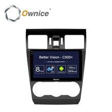 Ownice C500 + Octa base Android 6.0 Autoradio Lecteur DVD Pour Subaru WRX Forester 2014 2015 2016 GPS Navigation 32G ROM 4G SIM