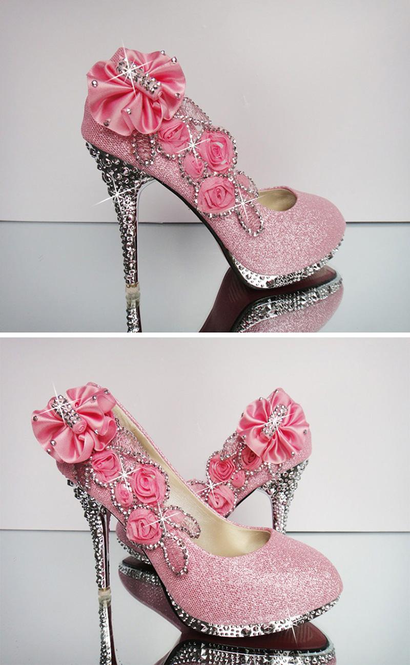 19 Colorful Wedding Shoes Women Pumps Sexy Ladies Super High Heels Fashion Party Women Shoes Thin Heel 8cm 10cm YX721 10