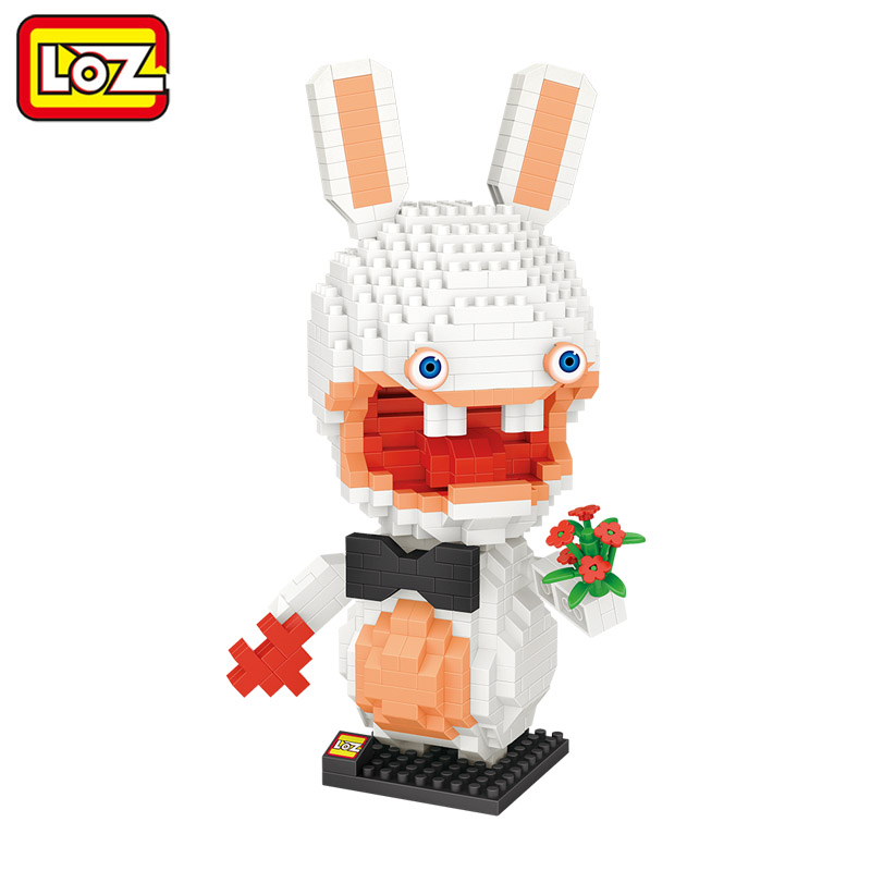 LOZ Rayman Raving Rabbids Crazy Rabbit Building Diamond Blocks 700Pcs Figure Toy For Age 14+ Offical Authorized 9782 mxq pro quick play amlogic s905 tv box 1g 8g wifi 1000m bluetooth 4 0 page 11