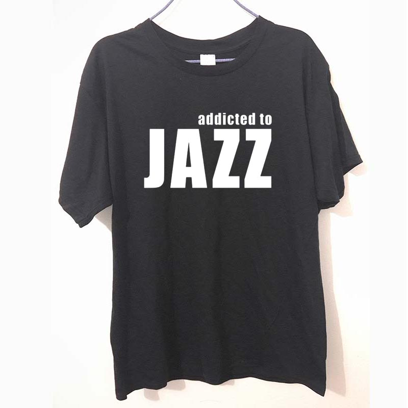 Addicted to jazz Love Jazz Music T-shirts Halloween Gift
