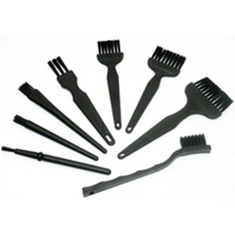 8pcs Anti Static Brush ESD Safe Synthenic Fiber Details Cleaning Brush Tool For Mobile Phone Tablet PCB BGA Repair Work