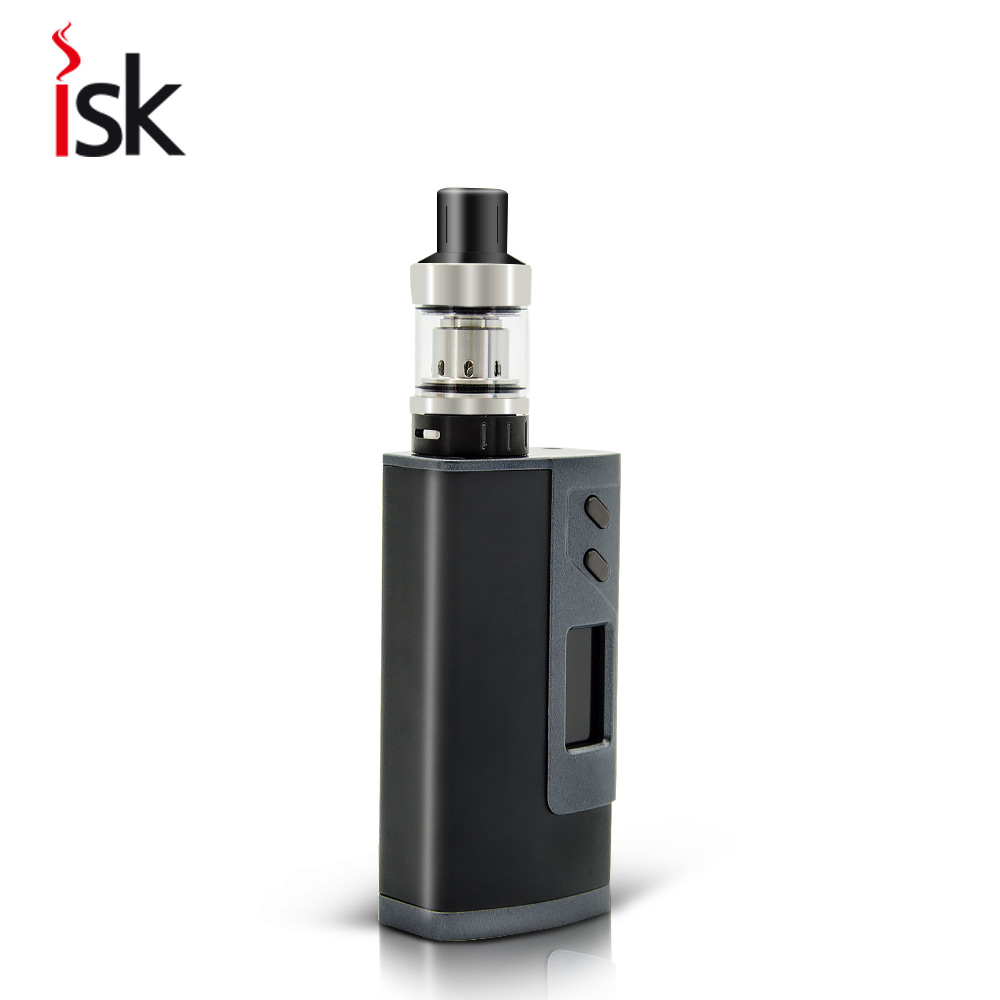 Orginal vaping kit sigelei fuchai 213w plus box mod with RTA tank vaporizer and two built-in 18650 batteries vape pen