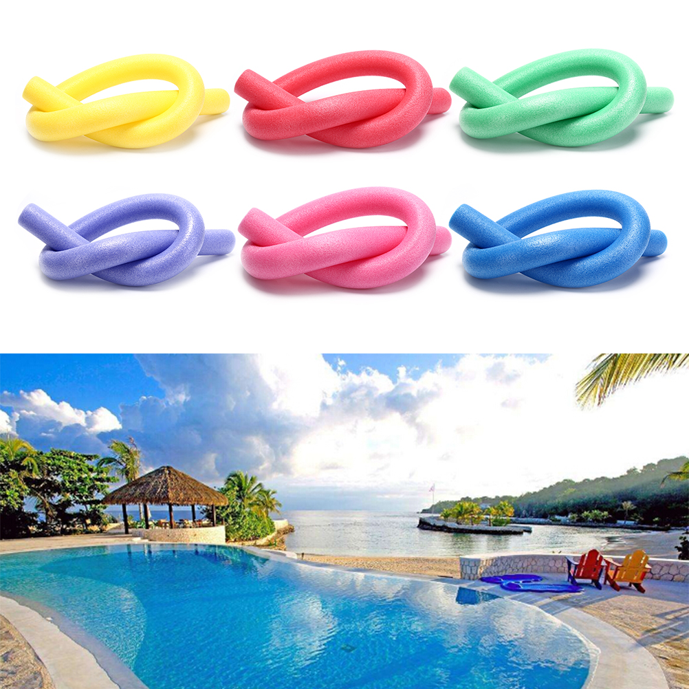 Popular Hollow Flexible Swimming Swim Pool Water Float Aid Woggle Noodles Useful For Children Over 5 Years Old And Adult